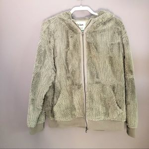 Dylan Gray Faux Fur Jacket Size XL